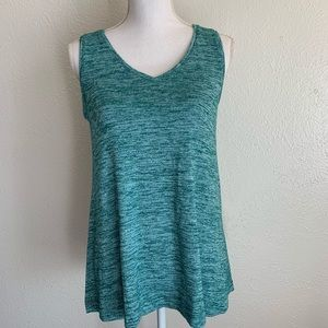 Sonoma teal sweater like tank sz small